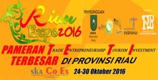 riau expo 2016 promosikan produk unggulan daerah