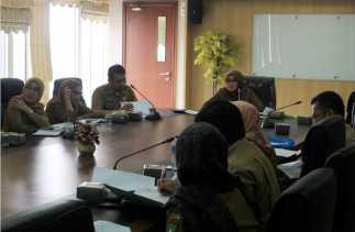 rapat evaluasi rencana aksi program pemberantasan korupsi terintegrasi pokja perizinan/ptsp tahun 2016