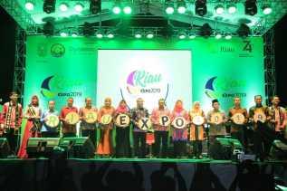 riau expo 2019 resmi dibuka oleh gubernur riau