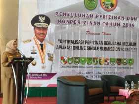 Dorong Masuknya Investor, Pemprov Riau Terus Berupaya Meningkatkan Pelayanan Perizinan