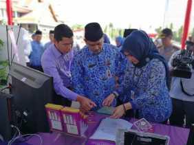 DPMPTSP Provinsi Riau Mengikuti Gelar Aplikasi e-Government Dalam Rangka Memperingati Hari OTDA Ke-XXI
