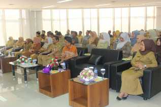 Acara Menyambut Bulan Suci Ramadhan 1438 H dan Perpisahan Pegawai Purna Bhakti di DPMPTSP Provinsi Riau