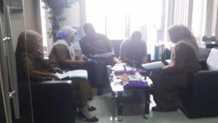 Kunjungan dari DPMPTSP Kabupaten Kampar terkait tindak lanjut Supervisi Penanganan Pengaduan